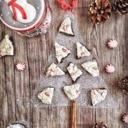 chocolates con menta para regalar en Navidad ¡no es necesario temperar el chocolate!