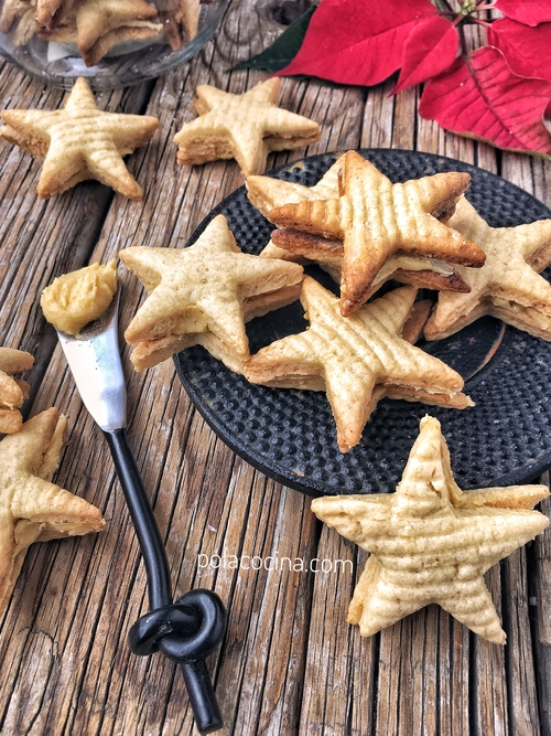 galletas rellenas de vainilla cómo preparar