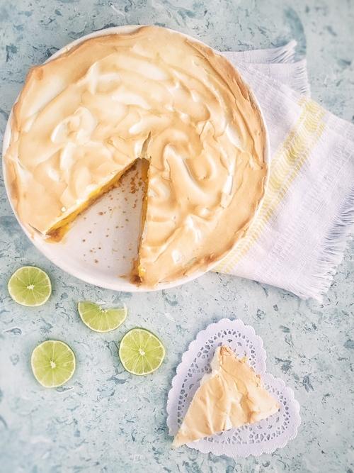 Receta de pay de limón con merengue