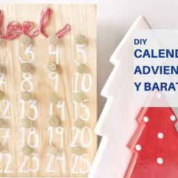 tutorial en video para hacer un calendario navideño