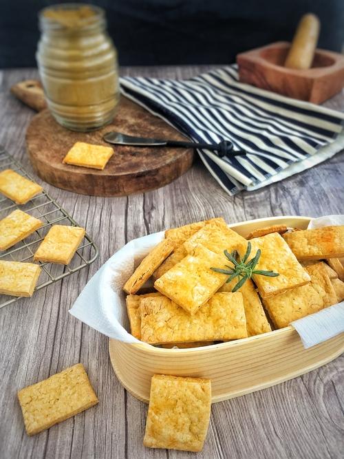 Receta galletas de curry saladas