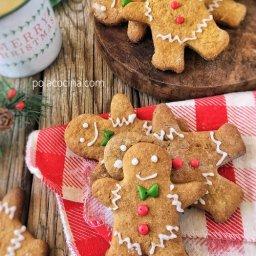cómo hacer galletas de jengibre navideñas