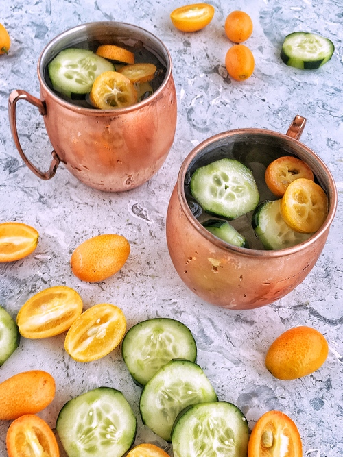 coctel moscow mules con gin