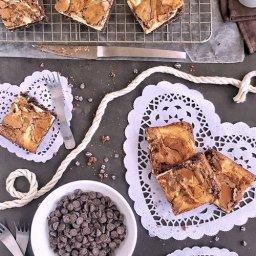 Cómo hacer brownies con queso crema