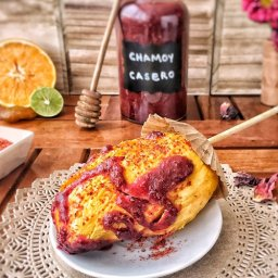 receta de chamoy con chabacano y jamaica