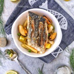 Cómo preparar salmón crujiente