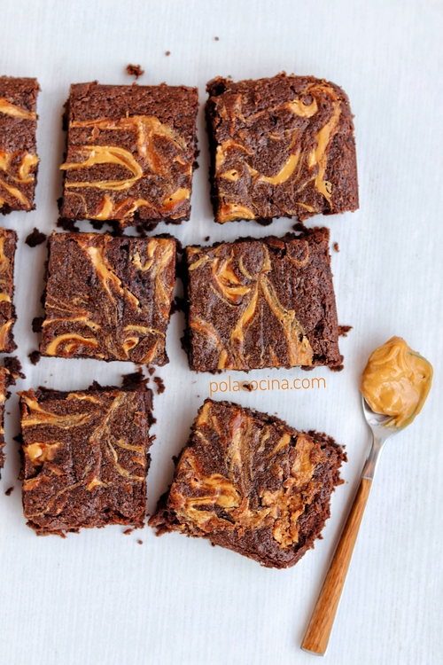 brownies crema cacahuate stout
