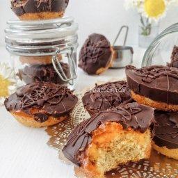 Receta de galletas pim con jalea de naranja y chocolate