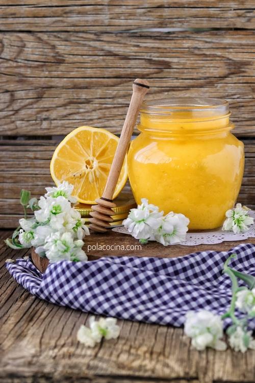 receta de lemon curd o mantequilla de limón