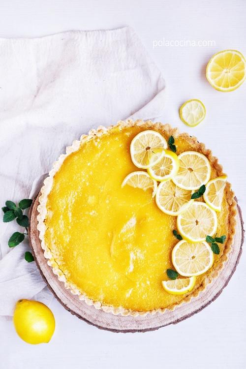 Cómo hacer pay de limón con aceite de oliva sin mantequilla
