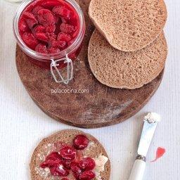Cómo hacer confitura o mermelada de fresas frutillas con vino tinto