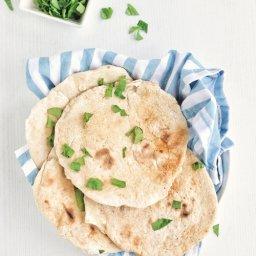Cómo preparar pan árabe en casa