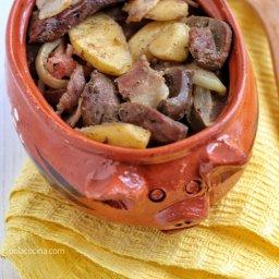 Cómo preparar hígado de res fácil al horno.