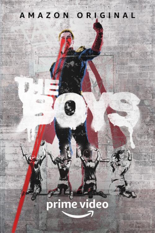 La pechuga de pollo frita de the boys poster amazon prime