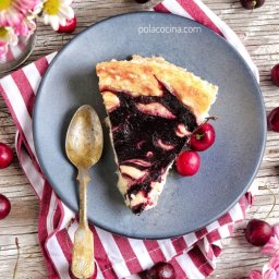 Receta de cheesecake de cerezas