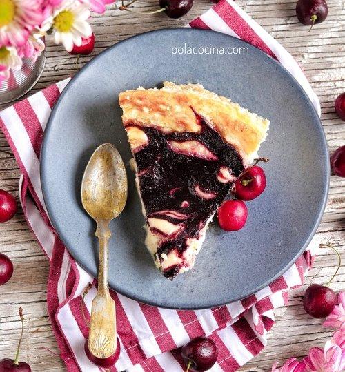 Receta de cheesecake de cerezas
