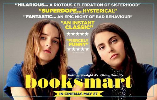 Reseña crítica de Booksmart poster