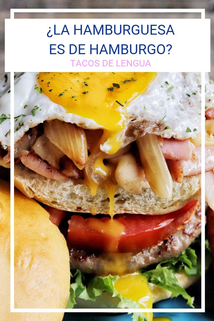 Etimología de hamburguesa