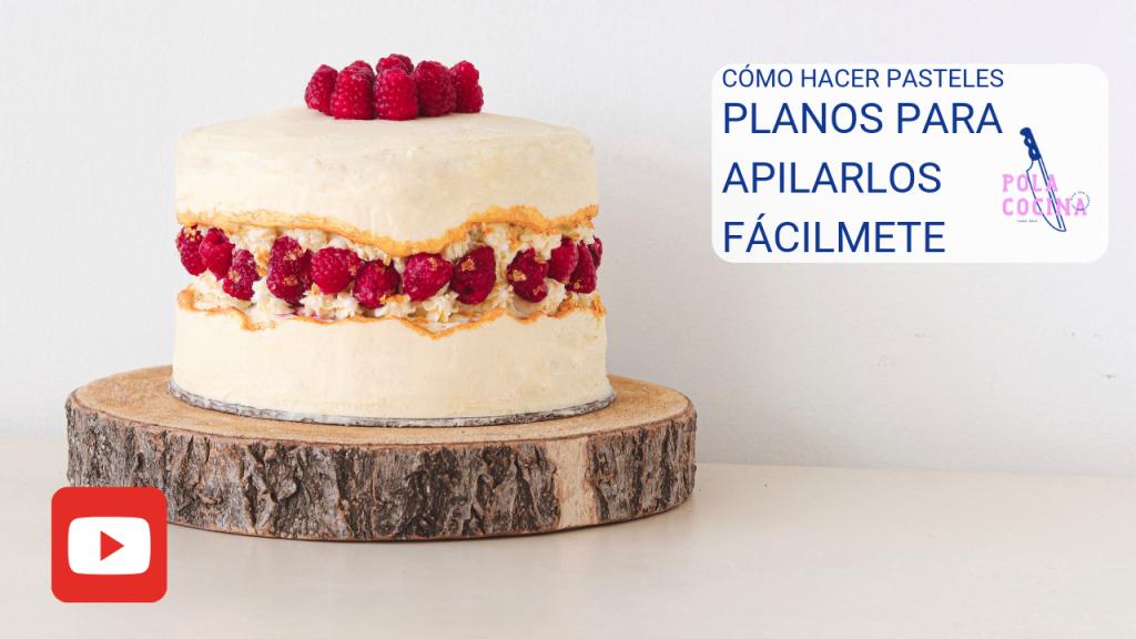 Cómo hacer para que los pasteles queden planos y húmedos