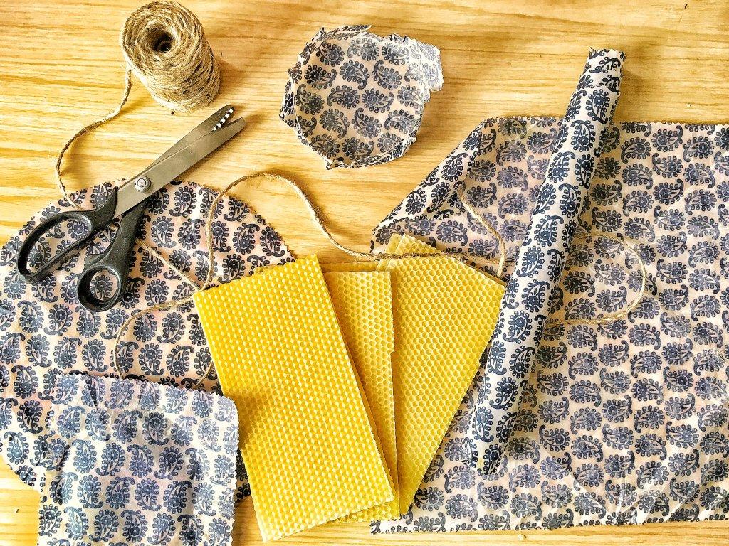 Cómo hacer tela encerada o beeswax wraps video