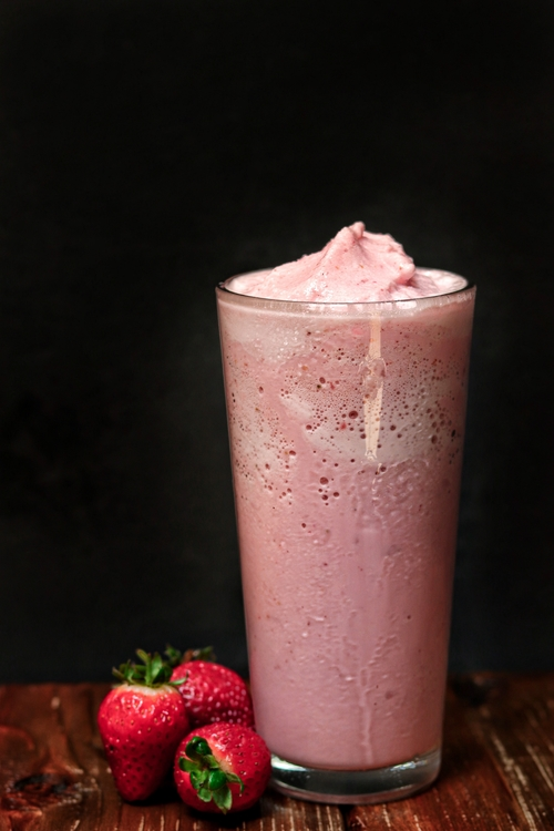 Copicos o lassis de yogur y fruta