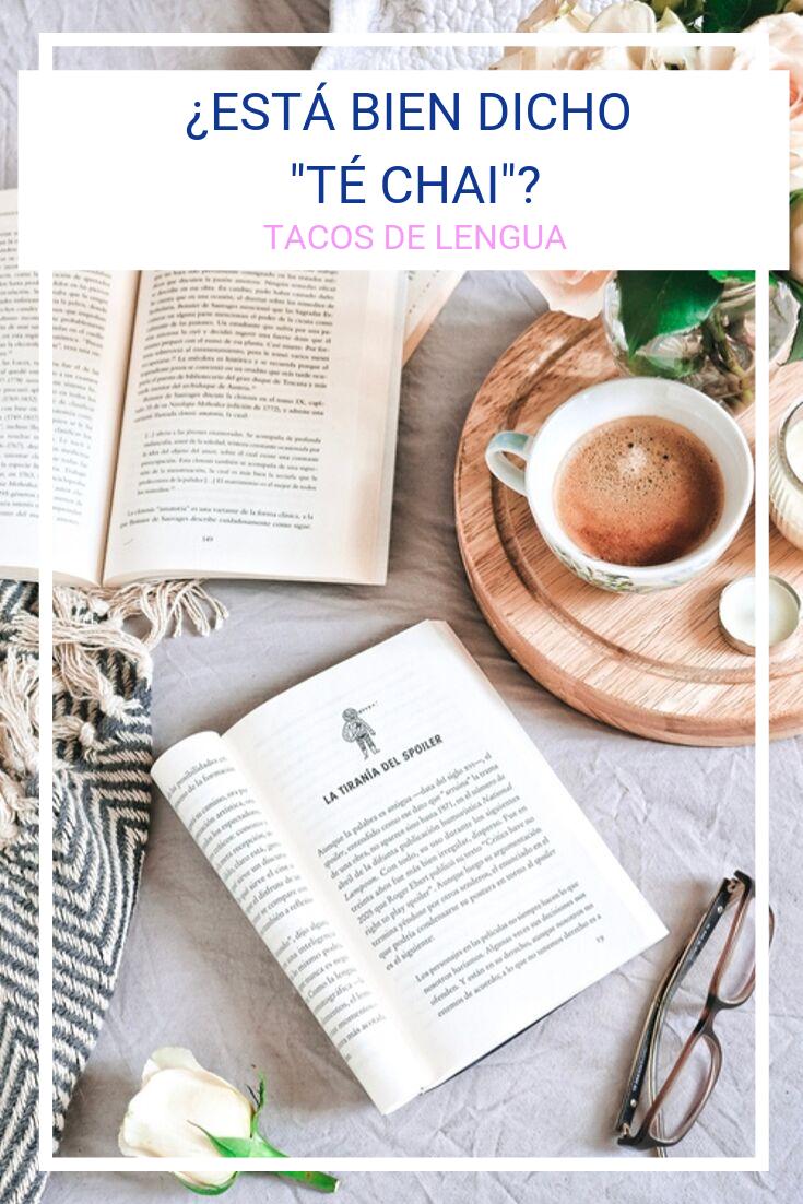 Etimología de té y chai