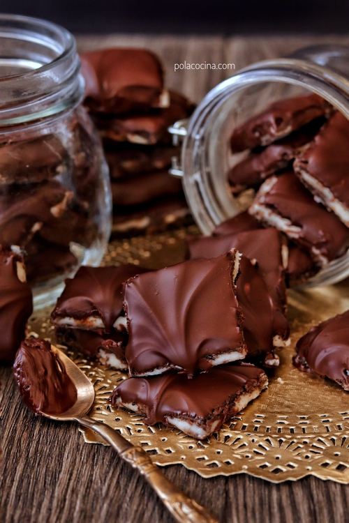 Peppermint patties homemade