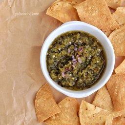 Receta de salsa verde taquera
