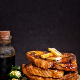 Receta de pan francés con calabaza de castilla