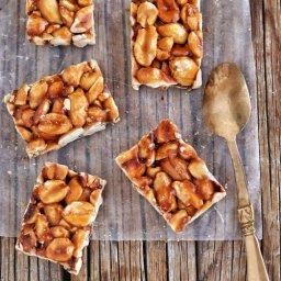 Receta de palanquetas de cacahuate