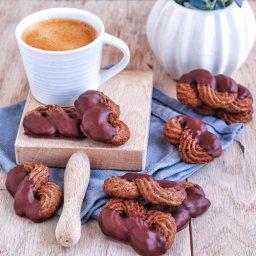 Galletas vienesas de chocolate