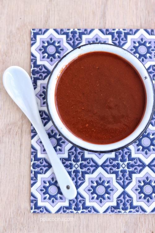 Salsa para tacos árabes dos recetas