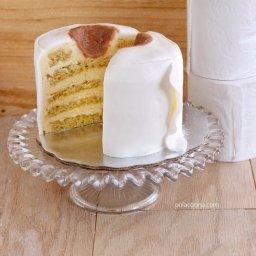 pastel de papel de baño