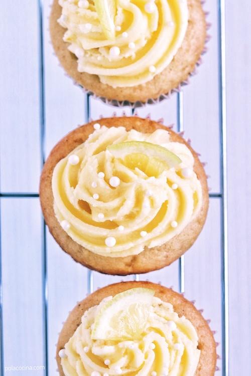 Cupcakes de limón y semillas de amapola