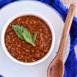salsa de chipotle seco