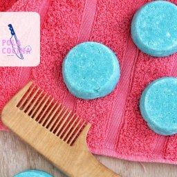 cómo hacer shampoo sólido con SCS