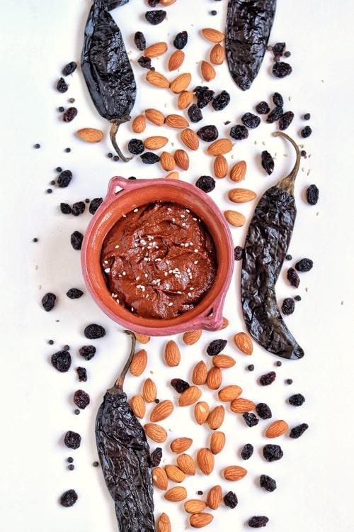 receta de mole poblano