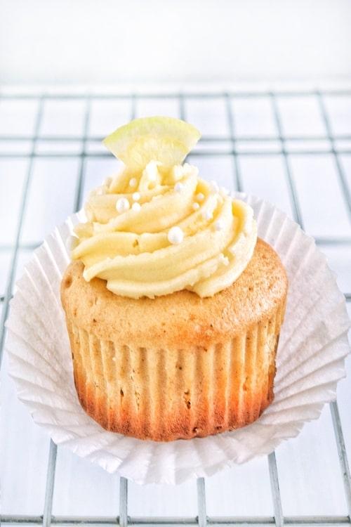 Cupcakes de limón para dos
