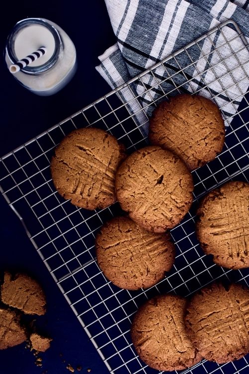Galletas de crema de cacahuate clásicas