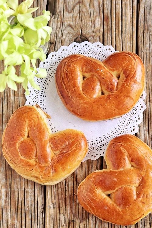 Rosquetes pan de muerto