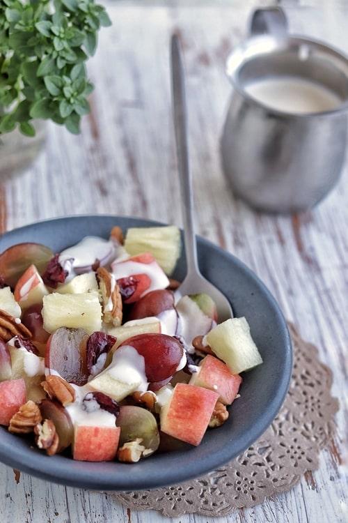 ensalada waldorf de manzana