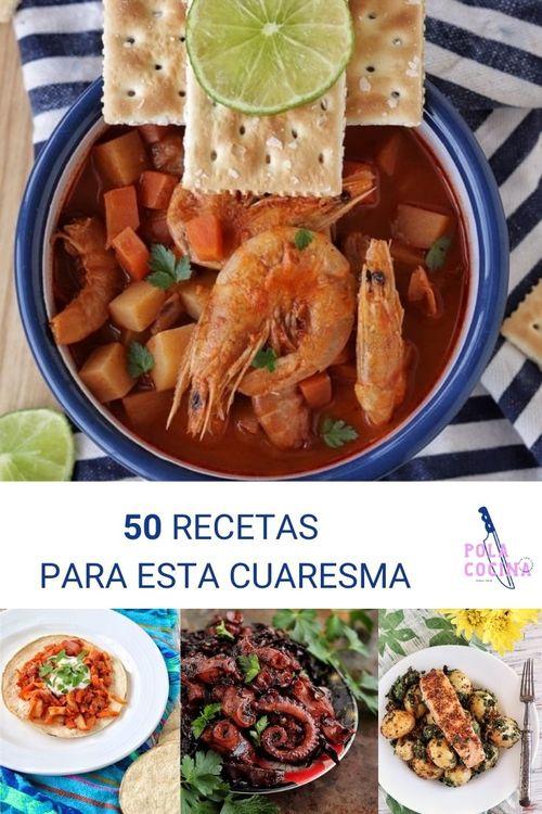 50 recetas de Cuaresma 2021