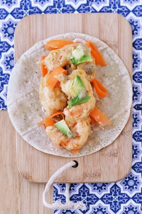 tacos de camarón estilo Ensenada