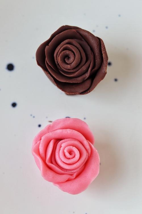 Plastilina de chocolate para modelar