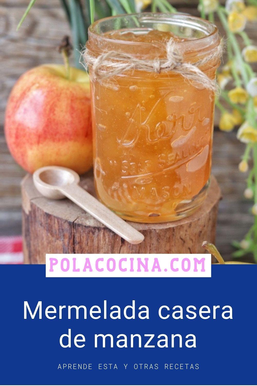 receta de mermelada de manzana casera