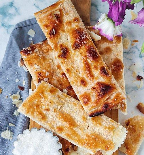 Campechanas cristales o doraditas de pan