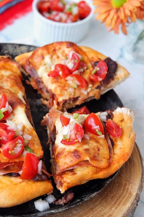 pizza mollete o molletizza