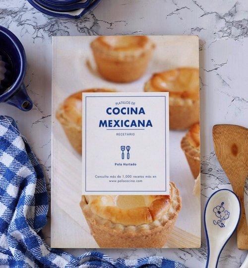 libro Platillos de cocina mexicana
